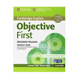OBJECTIVE FIRST CERTIFICATE 4TH STUDENT`S BOOK WITHOUT ANSWERS+INTERACT BOOK (SB+WB+AUDIO) Vol. U