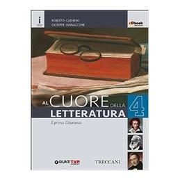 CUORE DELLA LETTERATURA 4  Vol. 4