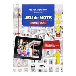 JEU DE MOTS - EDITION VIDEO - LIVRE DE L`ELEVE ET CAHIER 1 + EBOOK JEU DE CARTES 1 + EASY EBOOK (SU