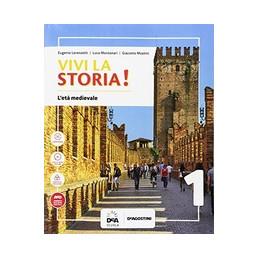 VIVI LA STORIA! VOLUME 1 + QUADERNO 1 +CITTADINANZA E COSTITUZIONE + EASY EBOOK (SU DVD) + EBOOK Vol