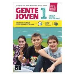 GENTE JOVEN NUEVA EDICION - VOLUME 1 VOLUME 1 + DVD-LIBRO DIGITALE + CODICE TABLET Vol. 1