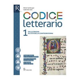 CODICE LETTERARIO 1 - LIBRO MISTO CON HUB LIBRO YOUNG VOL 1 + PERCORSI + HUB LIBRO YOUNG + HUB KIT V