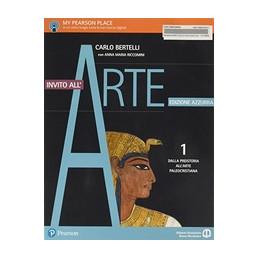 INVITO ALL`ARTE 1  EDIZIONE AZZURRA DALLA PREISTORIA ALLÂ¿ARTE PALEOCRISTIANA Vol. 1
