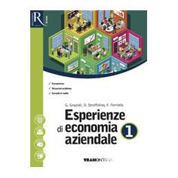 ESPERIENZE DI ECONOMIA AZIENDALE 1 - LIBRO MISTO CON HUB LIBRO YOUNG VOL 1 + QUAD DIDATTICA INCLUSIV