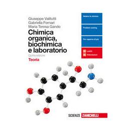 CHIMICA ORGANICA, BIOCHIMICA E LABORATORIO 5ED  - TEORIA (LDM)  Vol. U