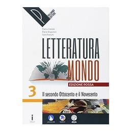 LETTERATURAMONDO VOL. 3 EDIZIONE ROSSA VOL. 3