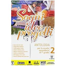 SOGNI, IDEE, PROGETTI 2 PLUS + LETTERATURA  VOL. 2