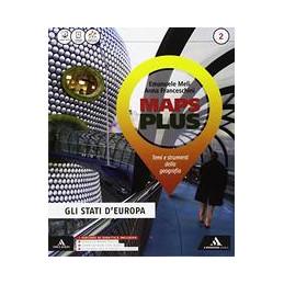 MAPS PLUS VOLUME 2+FASCICOLO 2+ATLANTE 2+ME BOOK Vol. 2