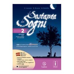 SOSTANZA DEI SOGNI (LA) VOL. 2 CON DVD VOL. 2