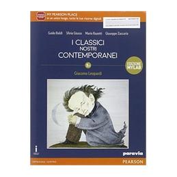 CLASSICI NOSTRI CONTEMPORANEI 5.1 LEOPARDI EDIZIONE MYLAB  Vol. 5
