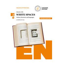 WHITE SPACES V 2 SCIENZE UMANE+CDMP3  VOL. 2 ED. ARANCIO