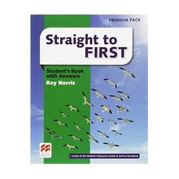 STRAIGHT TO FIRST ITALY PK  (SB+KEY/WB-KEY) STUDENT`S BOOK PREMIUM PACK+KEY + WORKBOOK-KEY Vol. U