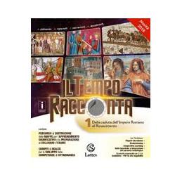 TEMPO RACCONTA (IL) VOL. 1 E TAV.ILL.+PREP.INT.+ANT.CIV.+CITT.  VOL. 1
