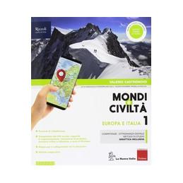 MONDI E CIVILTA` - LIBRO MISTO CON HUB LIBRO YOUNG VOL. 1 + ATLANTE GUIDATO + QUAD. + REGIONI D`ITAL