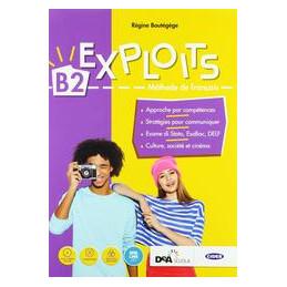 EXPLOITS B2 LIVRE DE L` + EASY EBOOK (SU DVD) Vol. U