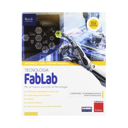 FABLAB - LIBRO MISTO CON HUB LIBRO YOUNG TECNOLOGIA + DISEGNO + HUB YOUNG + HUB KIT VOL. U
