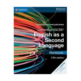 CAMBRIDGE IGCSE ENGLISH AS A SECOND LANGUAGE 5ED WORKBOOK PAPERBACK VOL. U