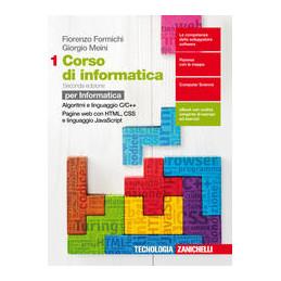 CORSO DI INFORMATICA 2ED. - PER INFORMATICA. VOLUME 1 (LD) ALGORITMI E LINGUAGGIO C/C++. PAGINE WEB
