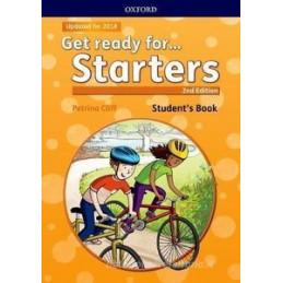 GET READY FOR... STARTERS. STUDENT`S BOOK. PER LA SCUOLA ELEMENTARE. CON ESPANSIONE ONLINE