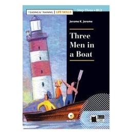 THREE MEN IN A BOAT. CON APP. CON CD AUDIO
