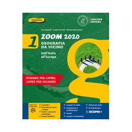 ZOOM 2020. VGEOGRAFIA DA VICINO. CON ATLANTE E LE REGIONI D`ITALIA. PER LA SCUOLA MEDIA. CON E BOOK.