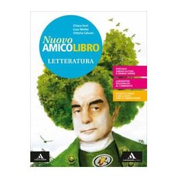 NUOVO AMICO LIBRO VOLUME 2 + LETTERATURA + QUADERNO Vol. 2