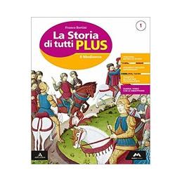 STORIA DI TUTTI PLUS (LA) VOLUME 1 + ATLANTE 1 + QUADERNO 1 Vol. 1