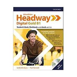 HEADWAY 5E DIG GOLD B1 STUDENT BOOK/WOORKBOOK W/O KEY + SRC Vol. U