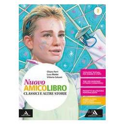 NUOVO AMICO LIBRO VOLUME 2 + LETTERATURA Vol. 2