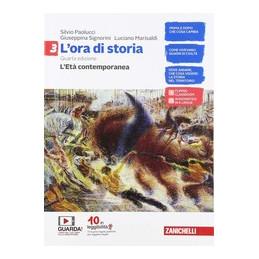 ORA DI STORIA (L`) - CONFEZIONE VOLUME 3 + ATLANTE STORICO (LDM) L`ET Vol. 3