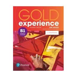 GOLD EXPERIENCE B1 SB + ONLINE PK ND Vol. U