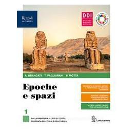 EPOCHE E SPAZI. CON EDUCAZIONE CIVICA E AMBIENTALE. PER LE SCUOLE SUPERIORI. CON E BOOK. CON ESPANSI
