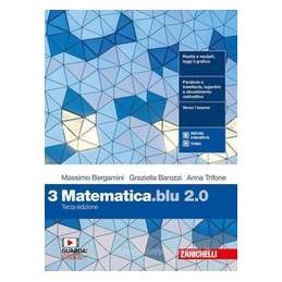 MATEMATICA BLU 2.0 3ED. - VOL. 3 (LDM) ND Vol. 1
