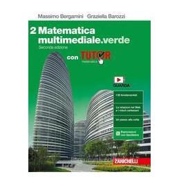 MATEMATICA MULTIMEDIALE.VERDE 2ED. - VOL. 2 CON TUTOR (LDM) ND Vol. 2