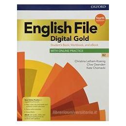 ENGL FILE 4E DIGITAL GOLD B2 SB/WB WITHOUT KEY+EBK+ECH Vol. U