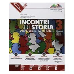 INCONTRI DI STORIA 3? + ATLANTE 3? + DVD 3? DONNE, UOMINI, EVENTI, CULTURE Vol. 3