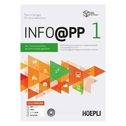 INFO@PP PER IL LICEO SCIENTIFICO OPZIONE SCIENZE APPLICATE Vol. 1