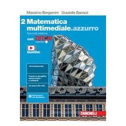 MATEMATICA MULTIMEDIALE.AZZURRO 2ED. - VOL. 2 CON TUTOR (LDM) ND Vol. 2