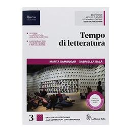 TEMPO DI LETTERATURA - LIBRO MISTO CON HUB LIBRO YOUNG VOL. 3 + HUB YOUING + HUB KIT VOL. 3