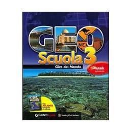 GEOSCUOLA 3 VOL 3 GIRO DEL MONDO + ATLANTE VOL. 3