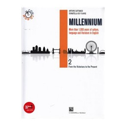 MILLENNIUM VOL 2 FROM THE VICTORIANS TO THE PRESENT AGE+CD ROM VOL. 2