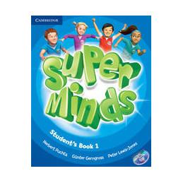 SUPER MINDS LEVEL 1   STUDENT`S BOOK+DVD ROM