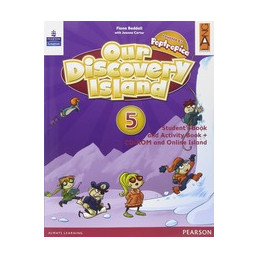 OUR DISCOVERY ISLAND 5 LIBRO CARTACEO+CD ROM Vol. 5
