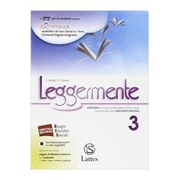 LEGGERMENTE VOL. 3 CON DVD ROM + LIBRO DELLE COMPETENZE 3 VOL. 3