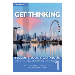 PUCHTA GET THINKING 1 SB/WB+EBOOK+LMS+EXTRA DIG GET THINKING