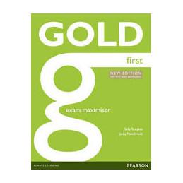 GOLD FIRST 2015 EXAMMAXIMISERW/ONLINEAUDIO(NOKEY)