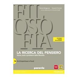 RICERCA DEL PENSIERO. VOL. 3A-3B. PER LE SCUOLE SUPERIORI. CON E-BOOK. CON ESPANSIONE ONLINE