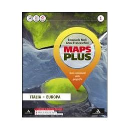 MAPS PLUS VOLUME 1+FASCICOLO 1+ATLANTE 1+(REGIONI M.B.) Vol. 1
