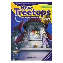 NEW TREETOPS GOLD 4 (2017) CB&WB+OBK+CIV+STUDYAPP+CD+COMPITI REALTA Vol. 1