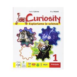 CURIOSITY 1 + TRAVELLING WITH DARWIN CLIL + ECOMARTY ESPLORIAMO LE SCIENZE VOL. 1